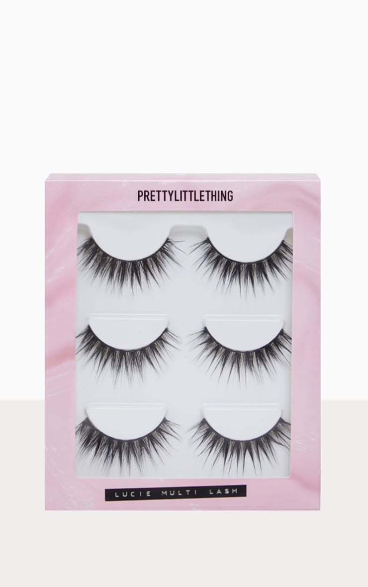 PRETTYLITTLETHING Lucie Lash 3 Pack 3