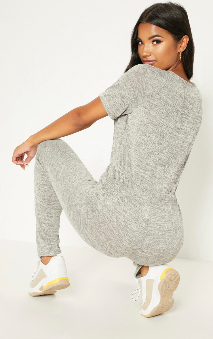 Stone Knitted Jumpsuit  2