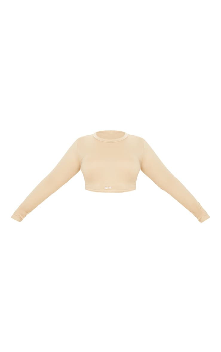 Plus Stone AW19 Embroidered Cotton High Neck Crop Top 3