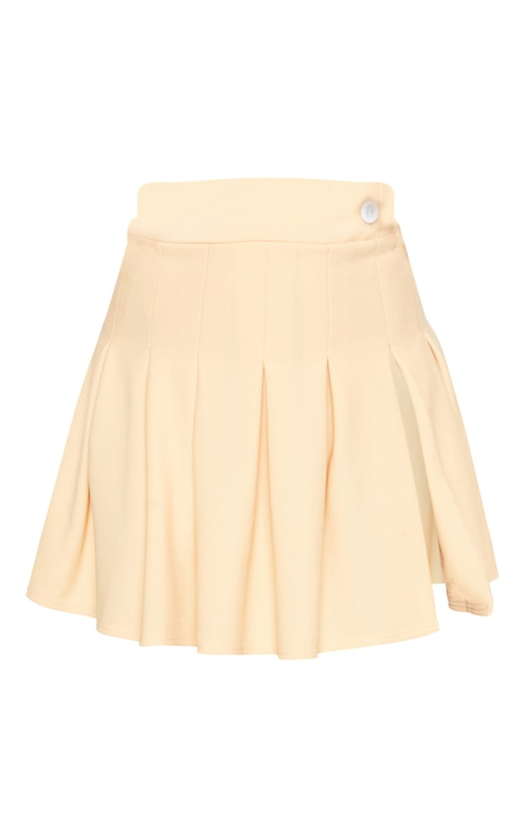 Fawn Pleated Side Split Tennis Skirt 3