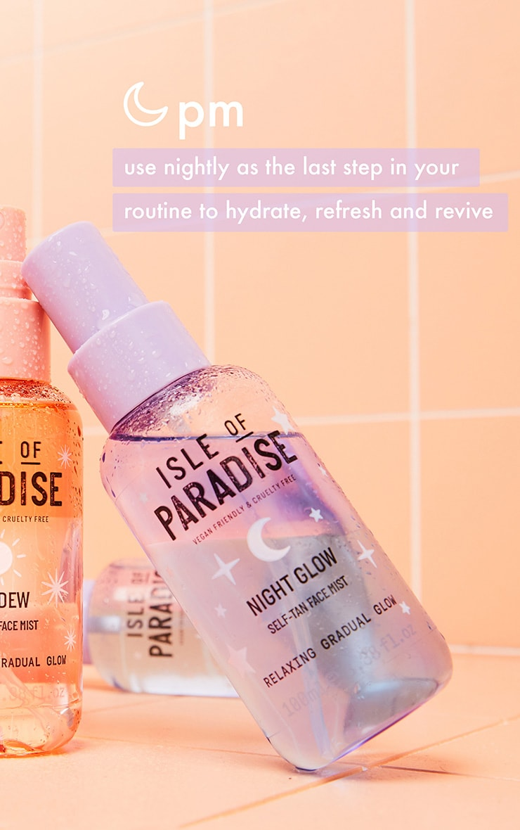 Isle of Paradise Night Glow Self Tan Face Mist 1