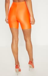 38e9cc6534 Orange Neon bike Shorts image 4