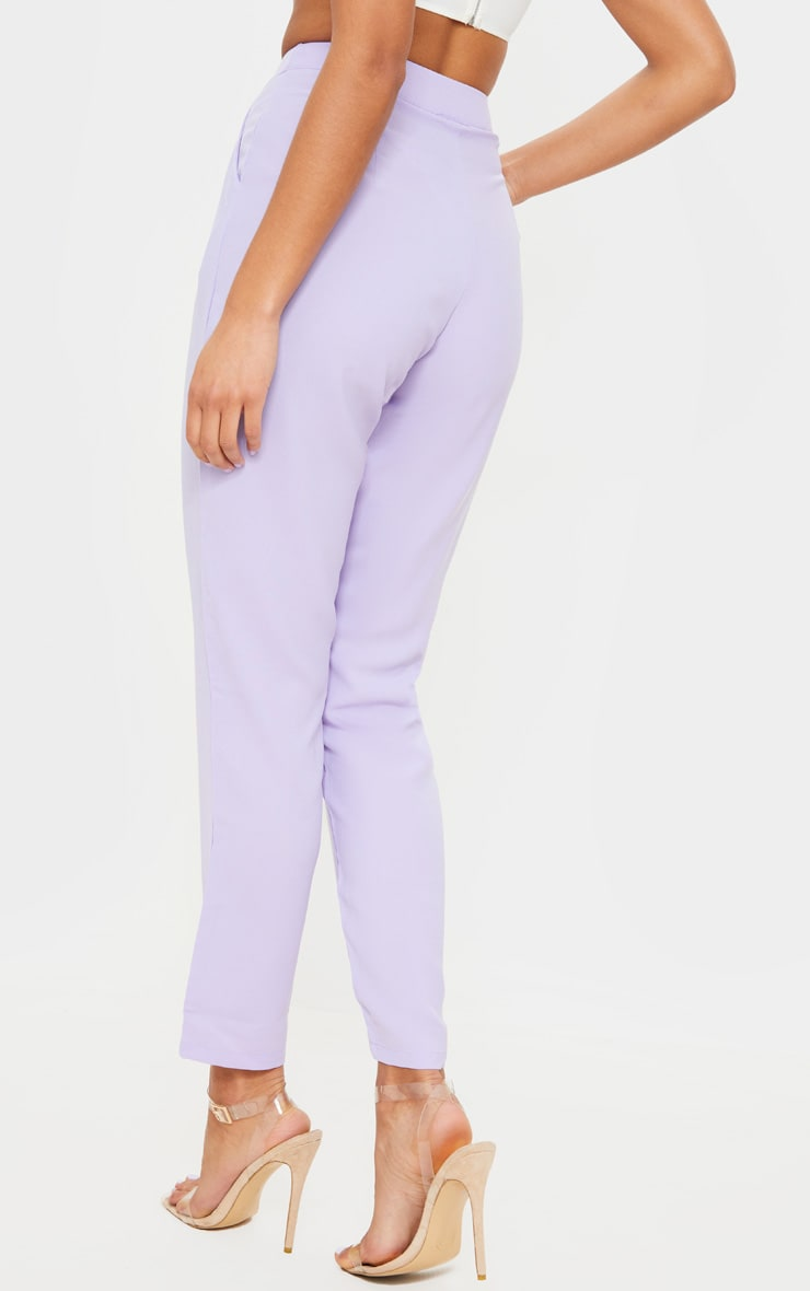 Lilac Tailored Trousers 4