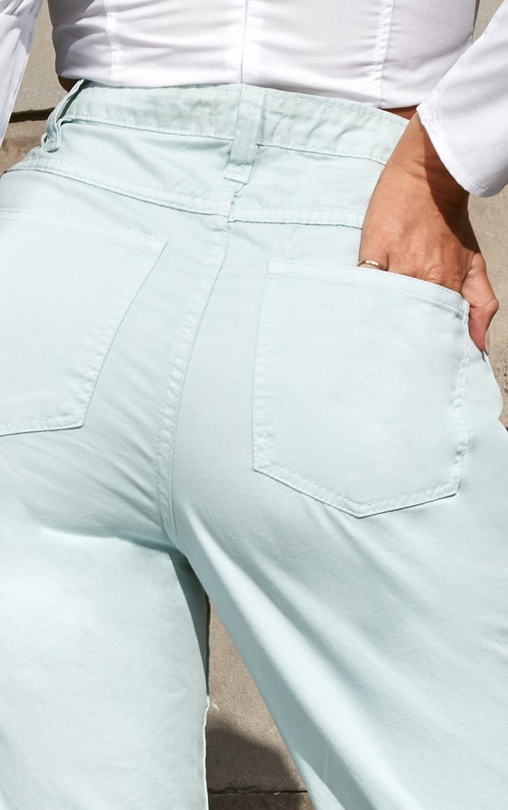 Mint High Waist Balloon Fit Jeans 5