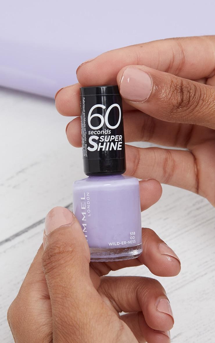 Rimmel 60 Seconds Rita Ora Super-Shine Nail Polish Go Wild-Er-Ness 2