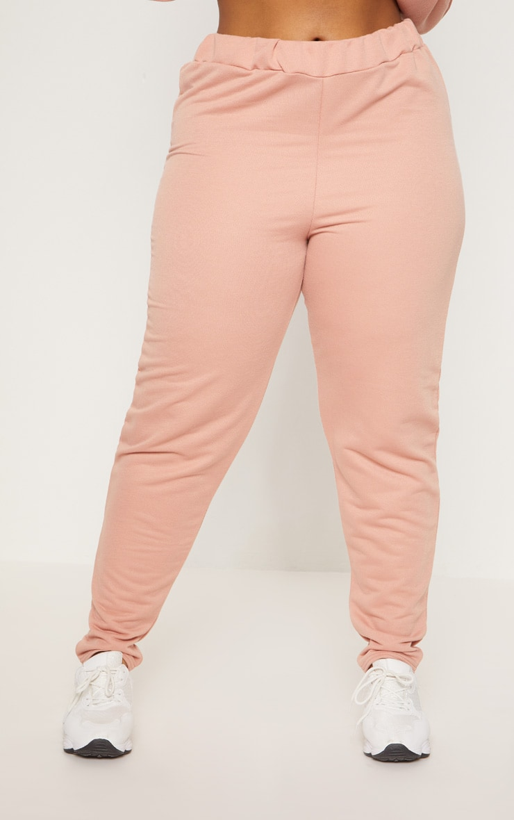 Plus Dusty Coral Joggers 2