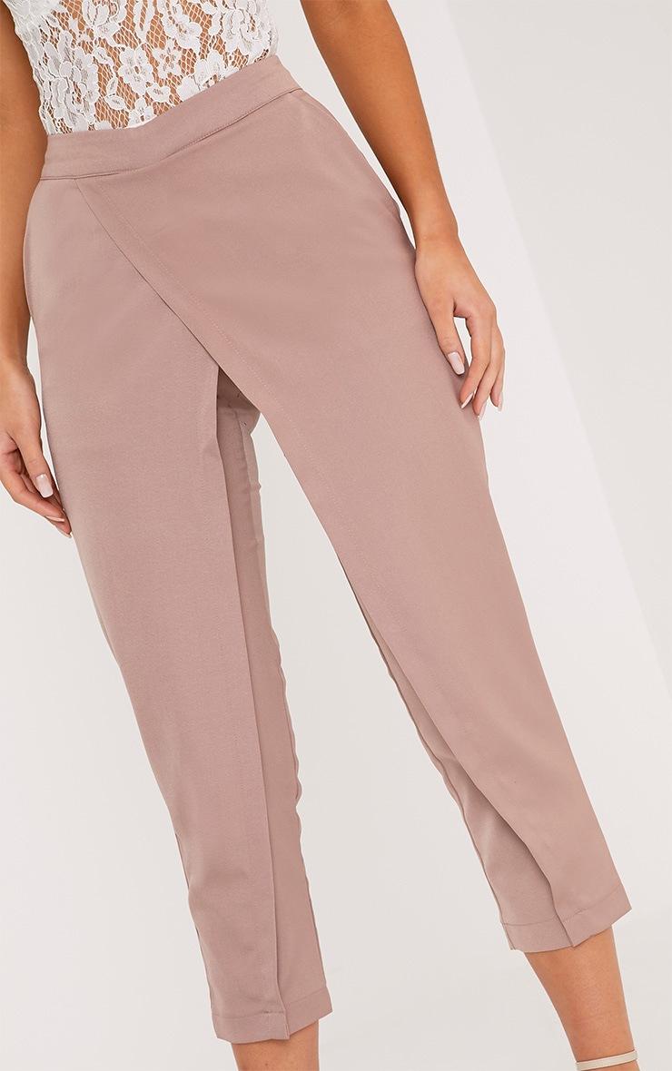 Rachel pantalon à devant croisé blush 4
