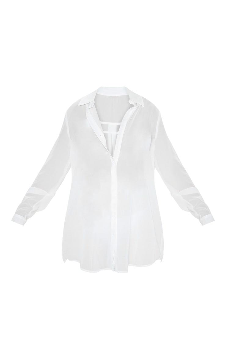 White Beach Shirt 6