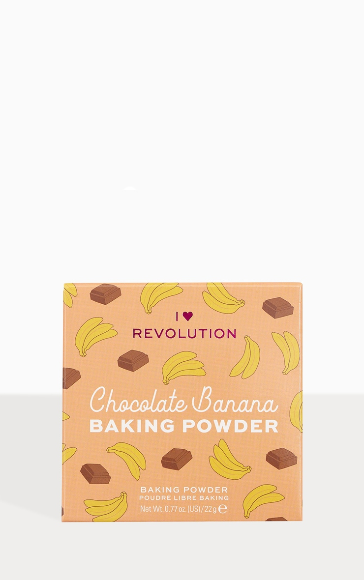 I Heart Revolution Loose Baking Powder Chocolate Banana 1