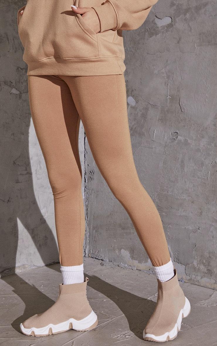 Taupe Basic Leggings 2
