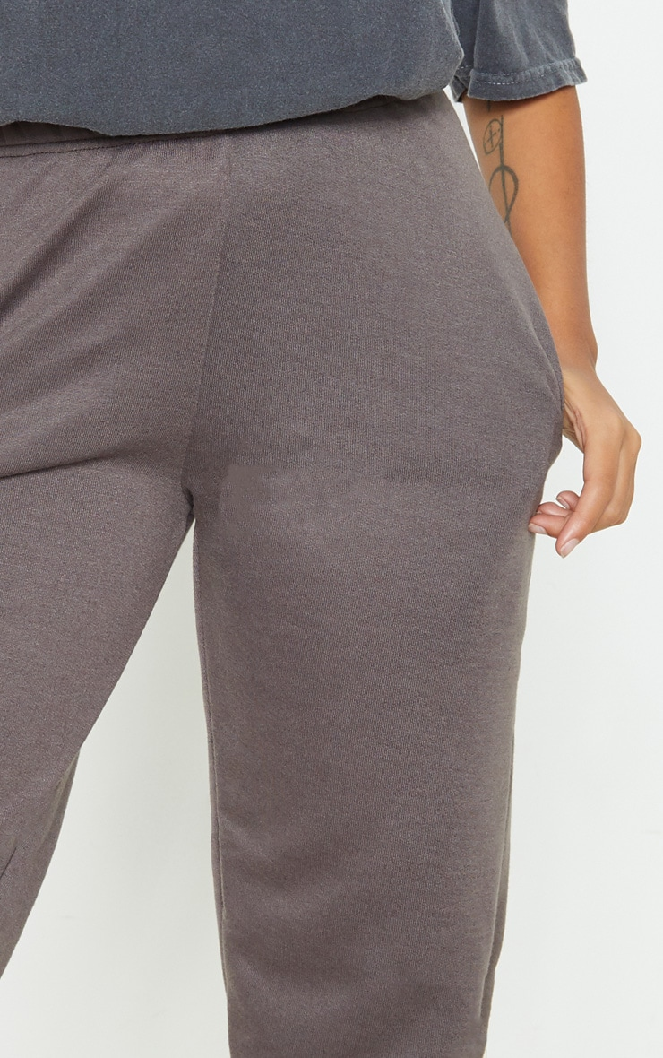 Petite Charcoal Casual Joggers 5