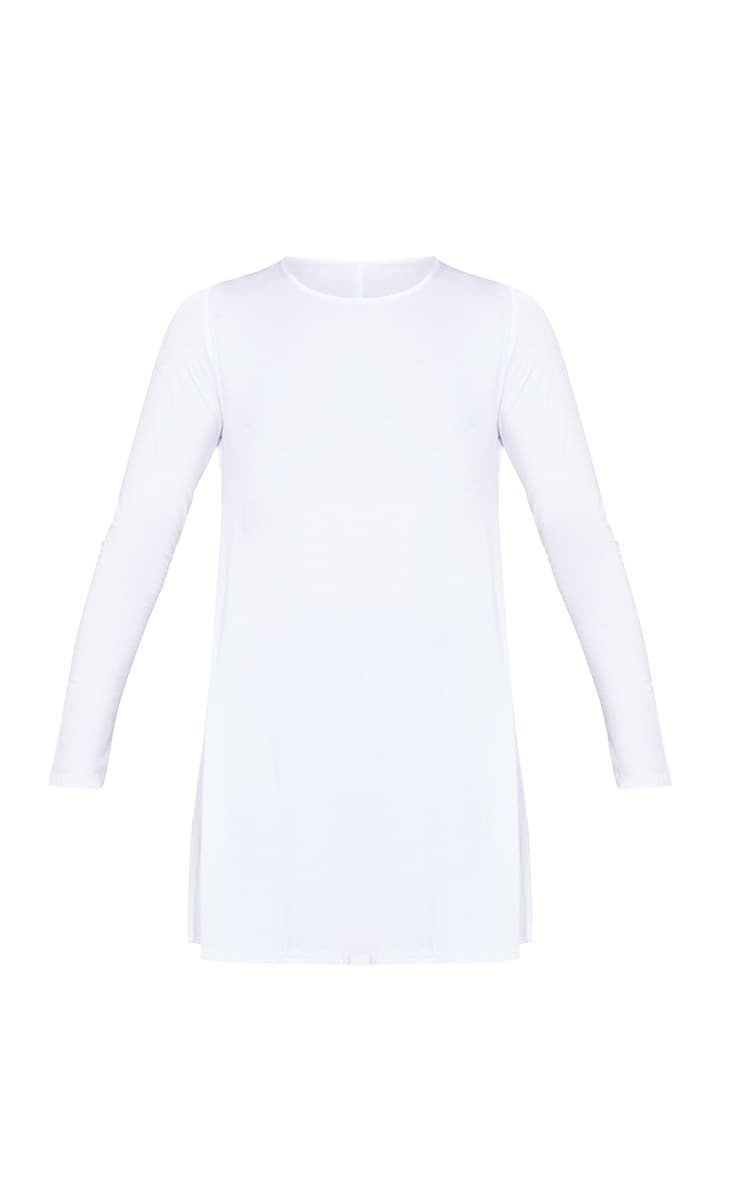 Tamsyn White Long Sleeve Side Split Top 3