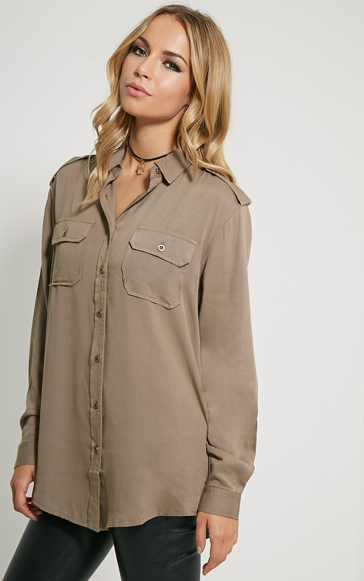 Marni Khaki Military Shirt 4