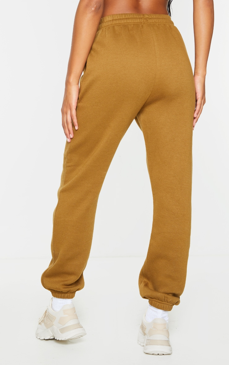 PRETTYLITTLETHING Dusty Brown Lounge Joggers 3