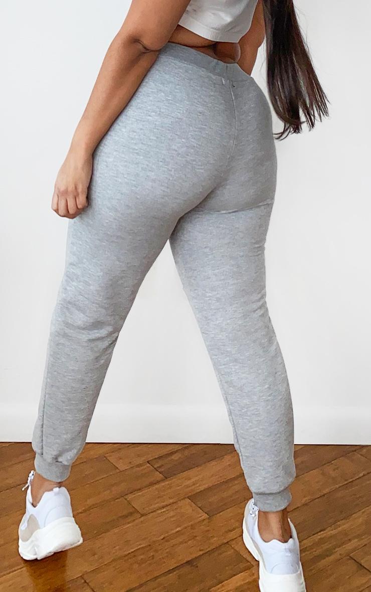 Plus Grey Ultimate Marl Sweat Joggers 3