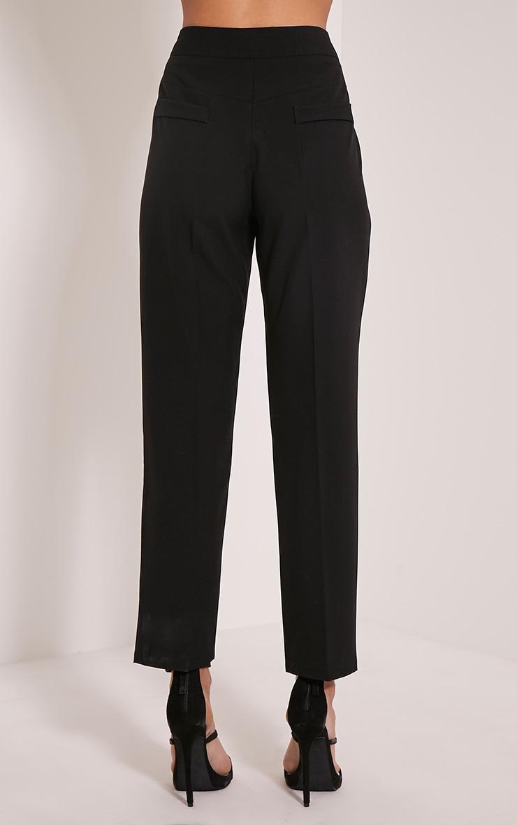 Taryn Black Cigarette Trousers 5