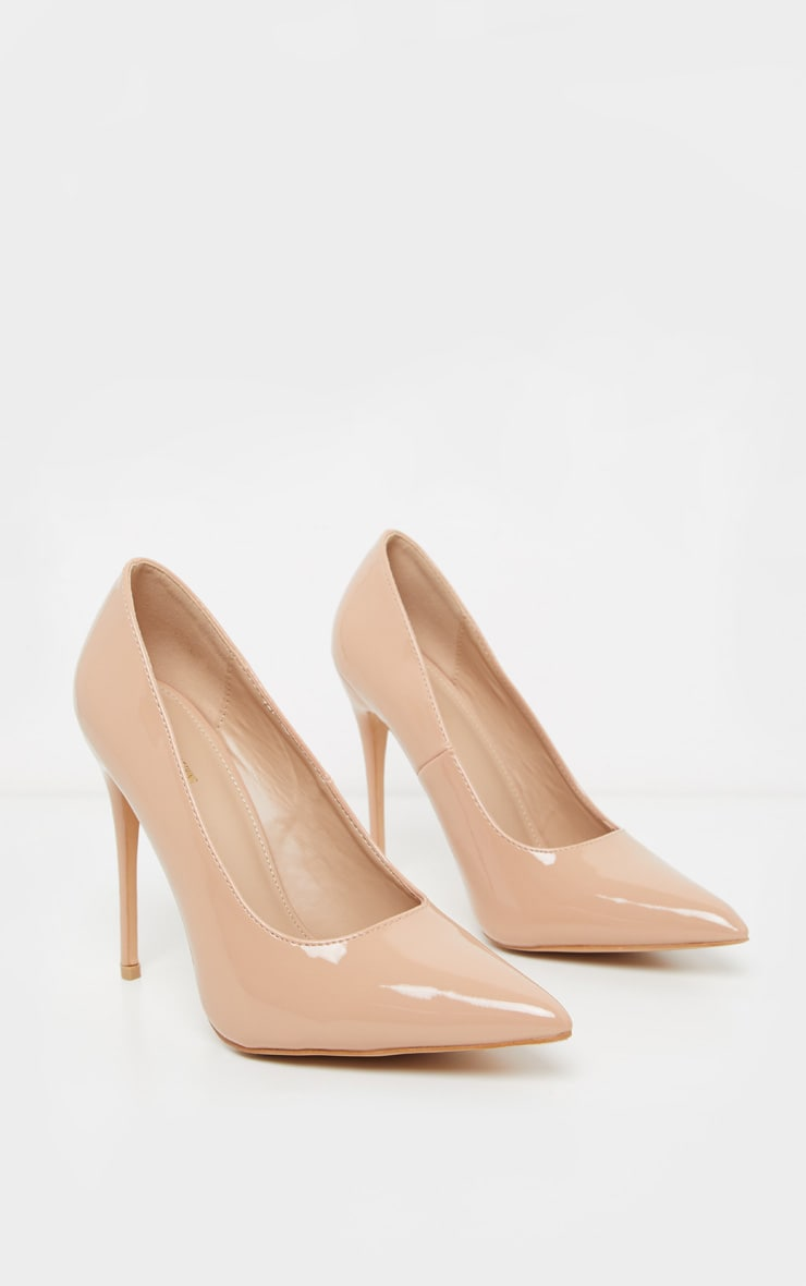 Light Nude Court Shoes 3