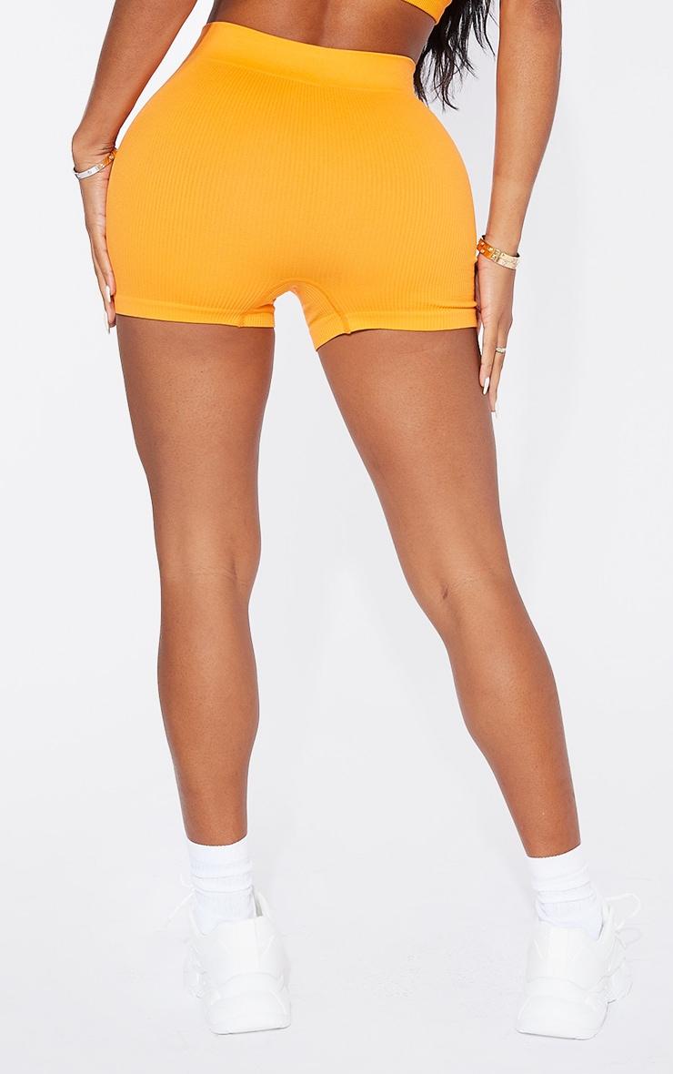 Shape Orange Contour Rib Shorts 3