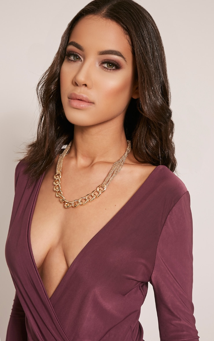 Lexi Gold Chain Link Necklace 2