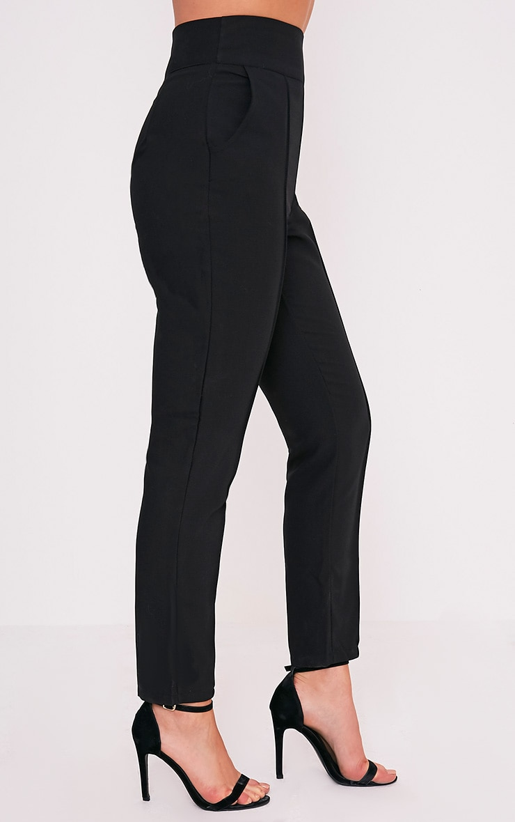 Wendy Black Front Seam Trousers 5