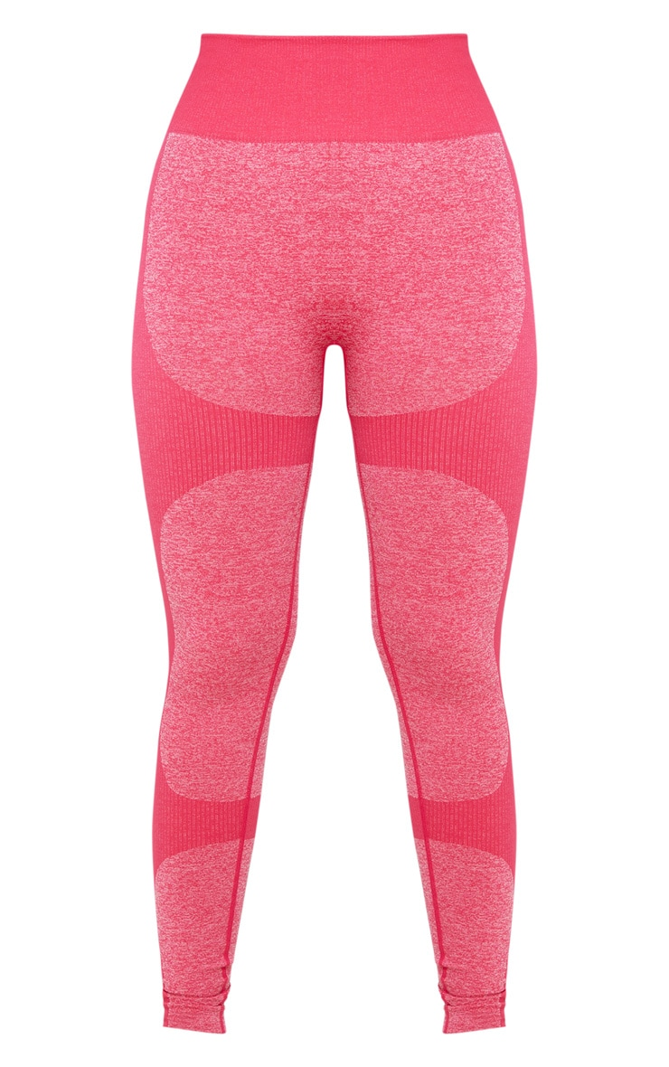 Raspberry High Waist Seamless Legging 3