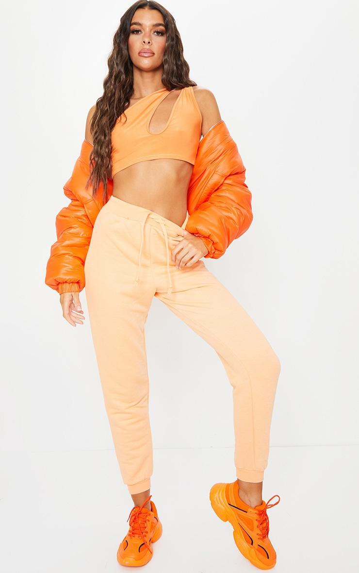 Peach Ultimate Sweat Track Pants 1