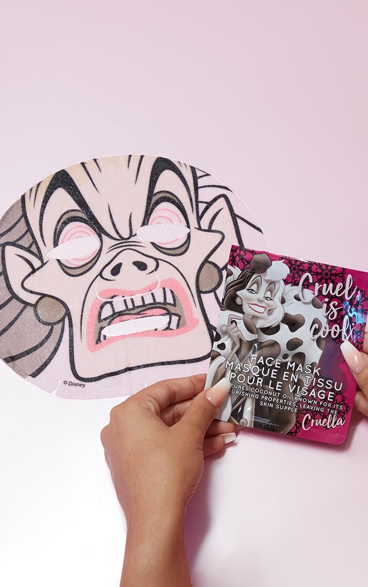 Disney Villains Sheet Face Mask Cruella 1
