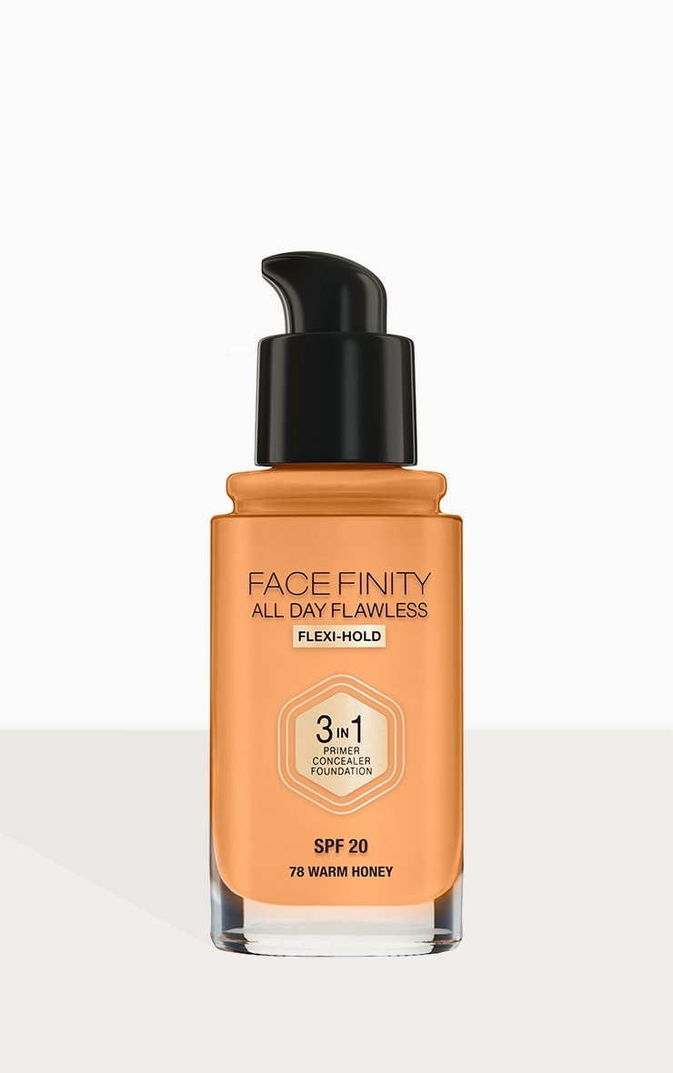 Max Factor Facefinity All Day Flawless Foundation Warm Honey 3
