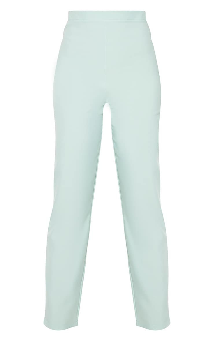 Tall Mint Cropped Suit Pants 5