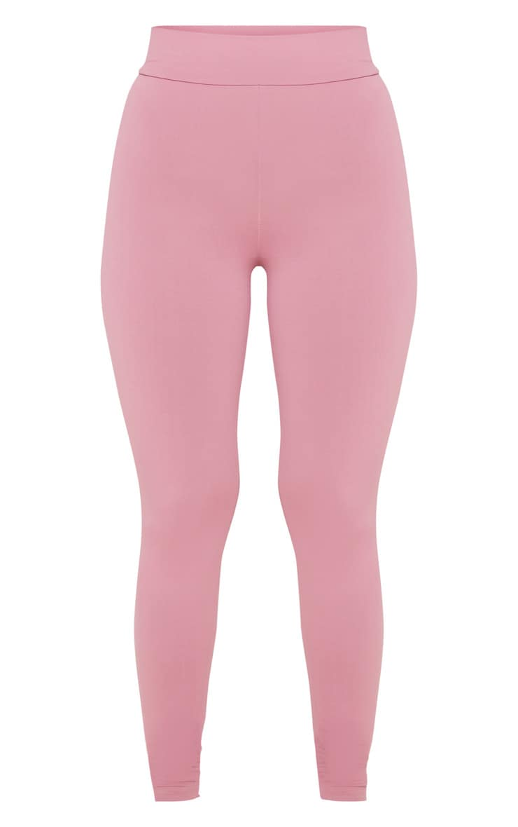 Dusty Pink Luxe High Waist Gym Legging 3