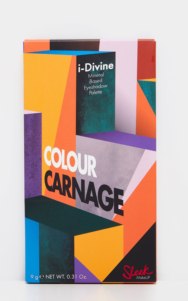 Sleek MakeUP i-Divine Colour Carnage Eyeshadow Palette 3
