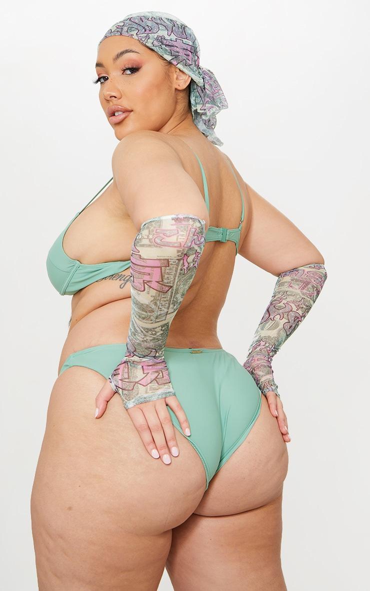 Plus Jade Underwired Balconette Bikini Top 2