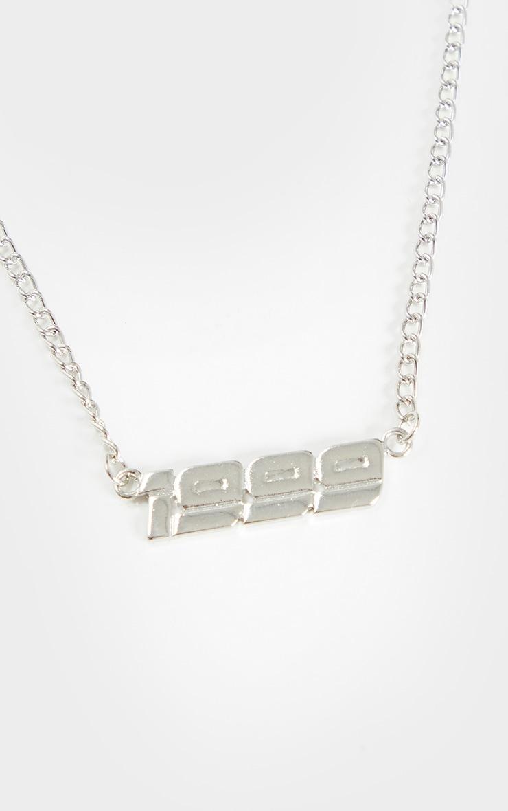 Silver 1999 Necklace 3