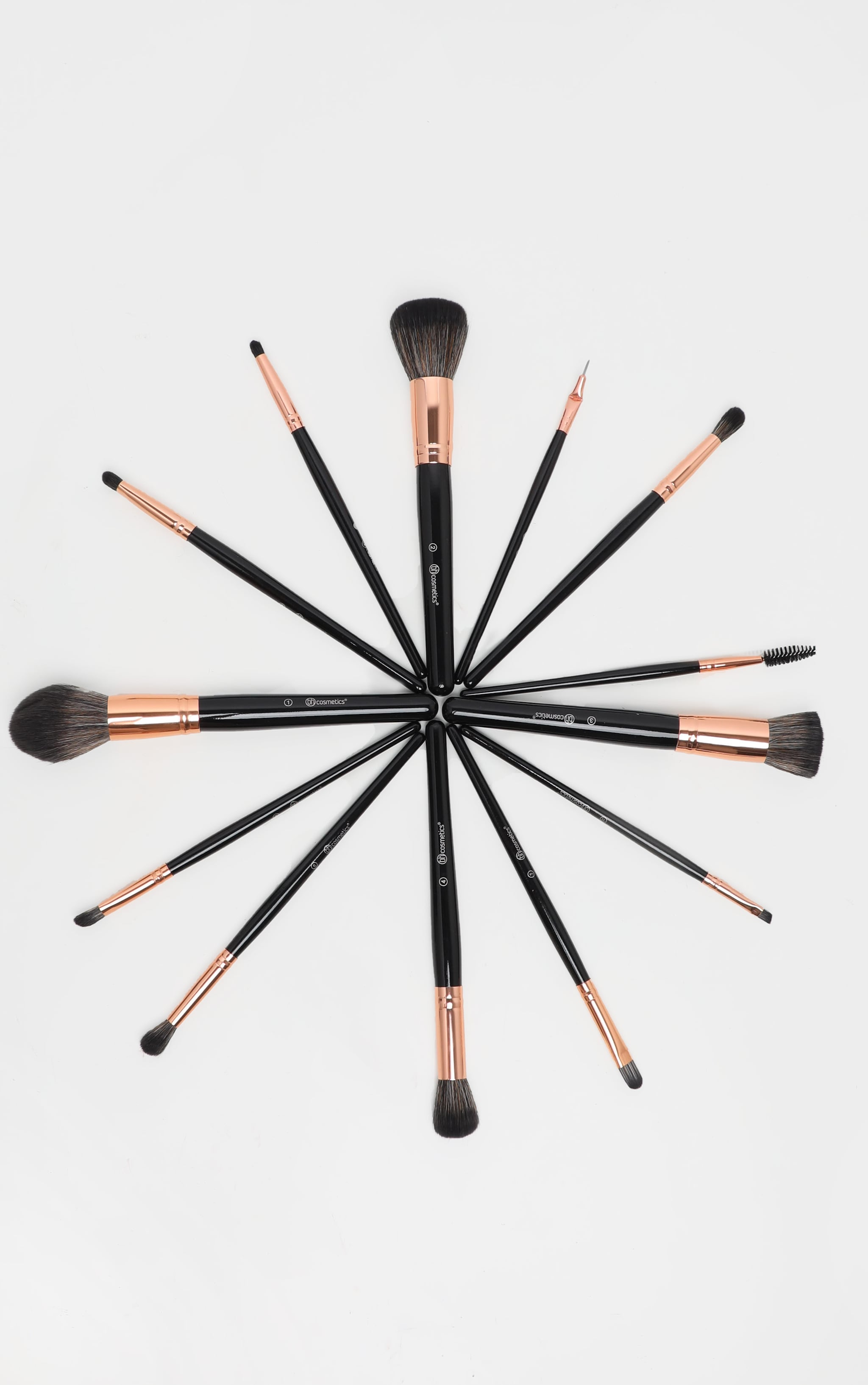 BH Cosmetics Signature Rose Gold 13 Piece Brush Set 4