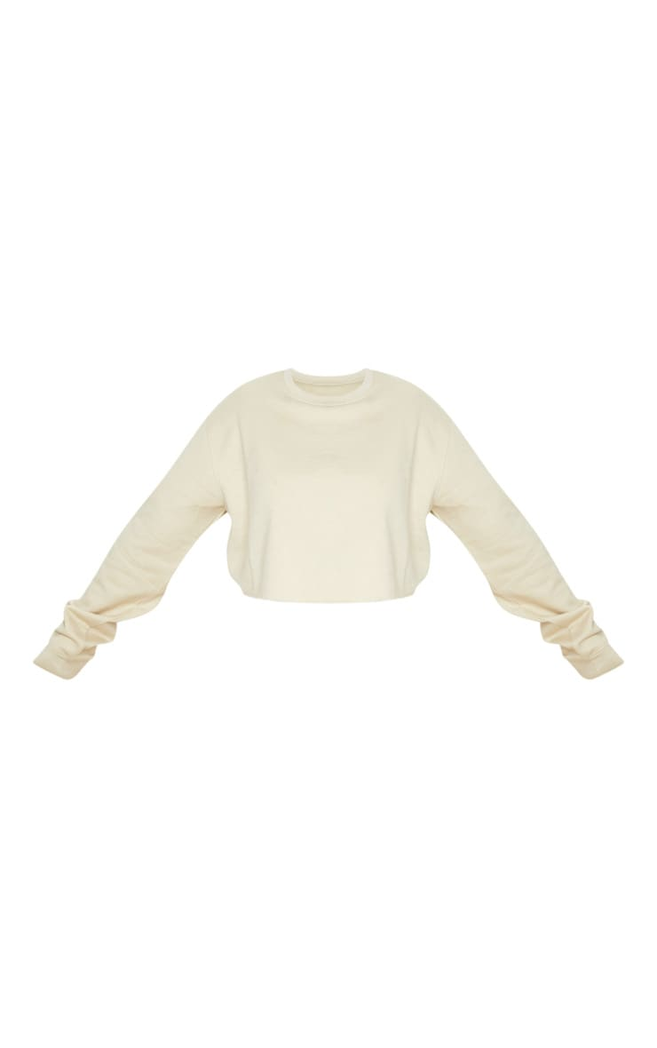 Plus Sand Ultimate Cropped Sweater 5
