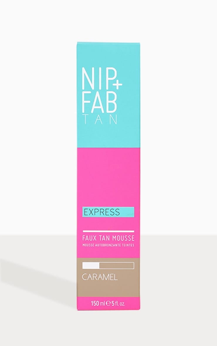 NIP+FAB Faux Tan Express Mousse Caramel 150ml 2