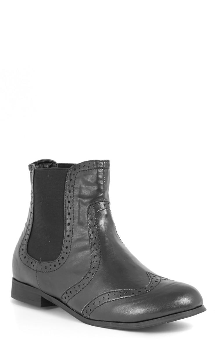 Glenna Black Chelsea Boot  3