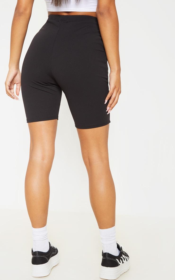 Black Bike Suit Shorts  4
