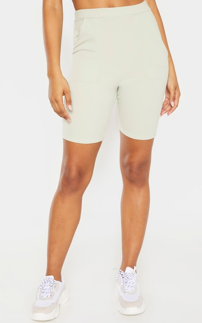 Tall Mint Cycling Suit Shorts