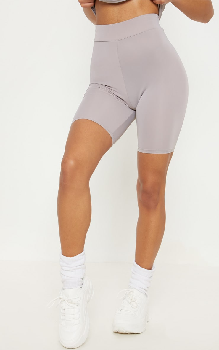 Grey Basic Gym Cycle Short 2