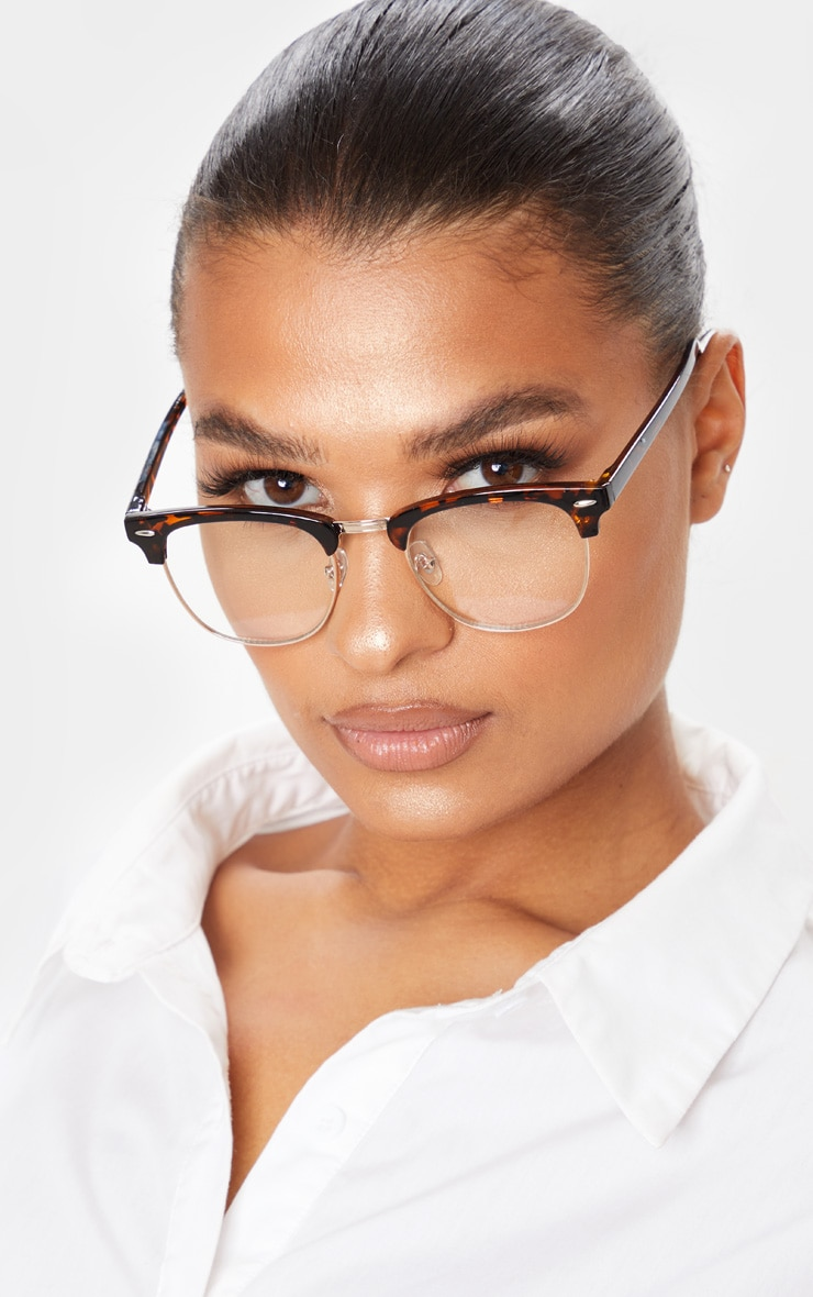 Tortoise Shell Retro Reader Glasses 1