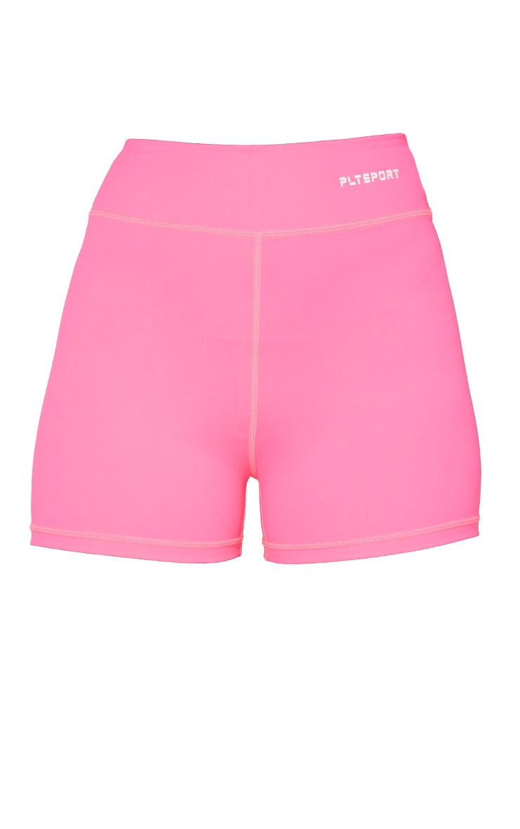 Hot Pink Sculpt Luxe Booty Shorts 6