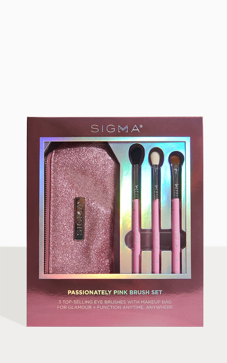 Sigma Passionately Pink Brush Set by Prettylittlething