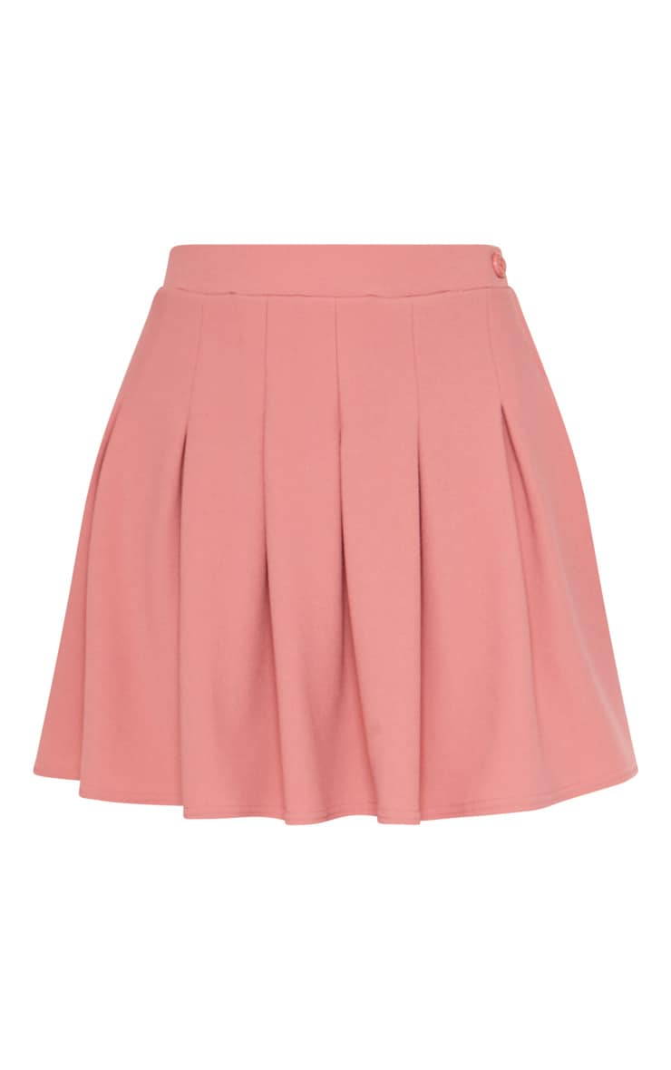 Blush Pleated Tennis Skirt 3