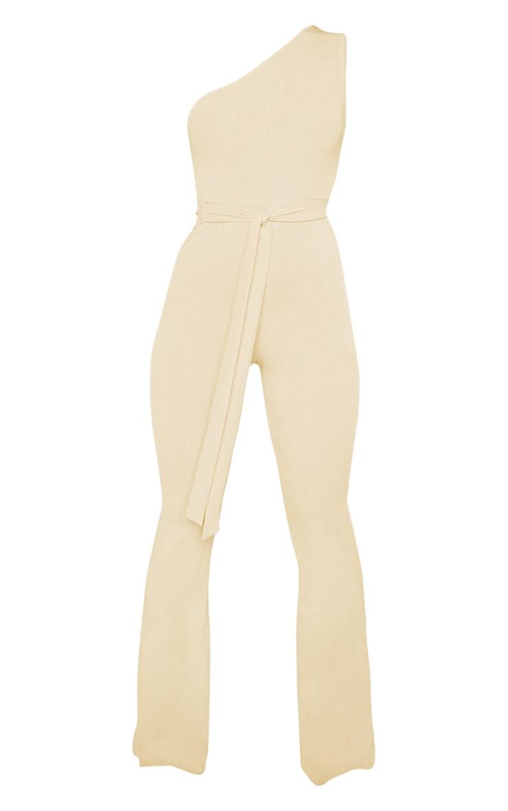 Stone Rib One Shoulder Jumpsuit 3
