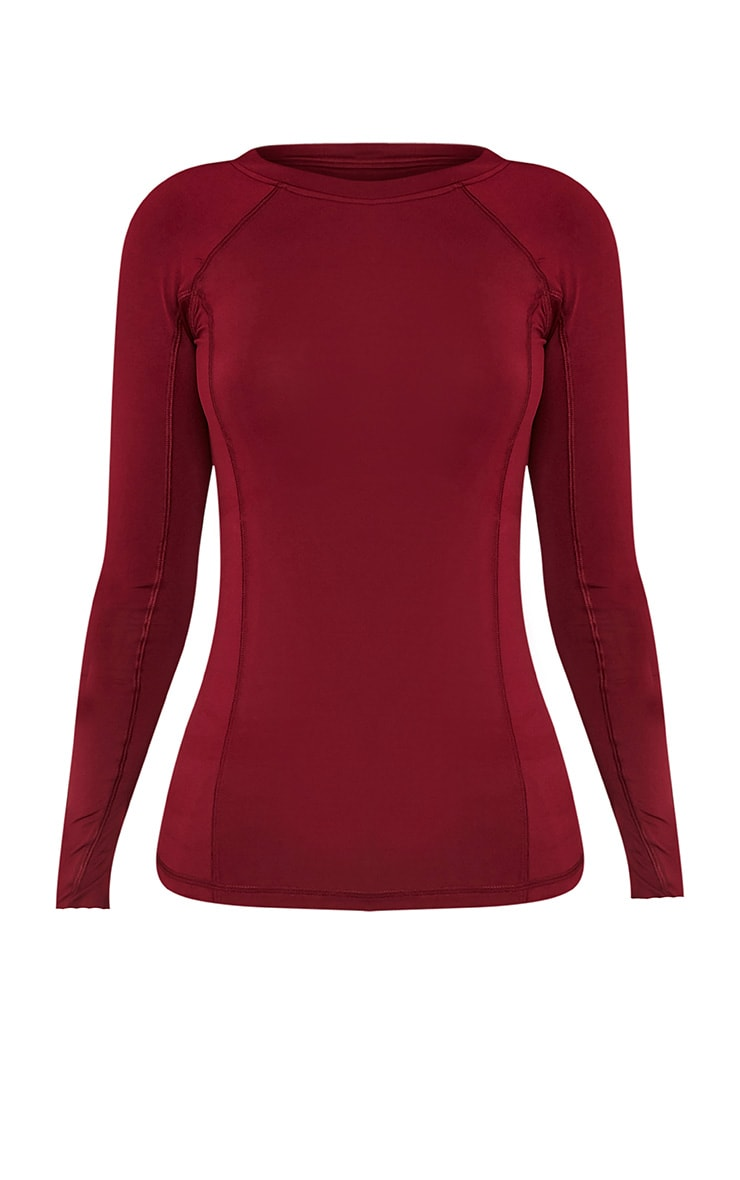 Siania Berry Long Sleeve Gym Top 3