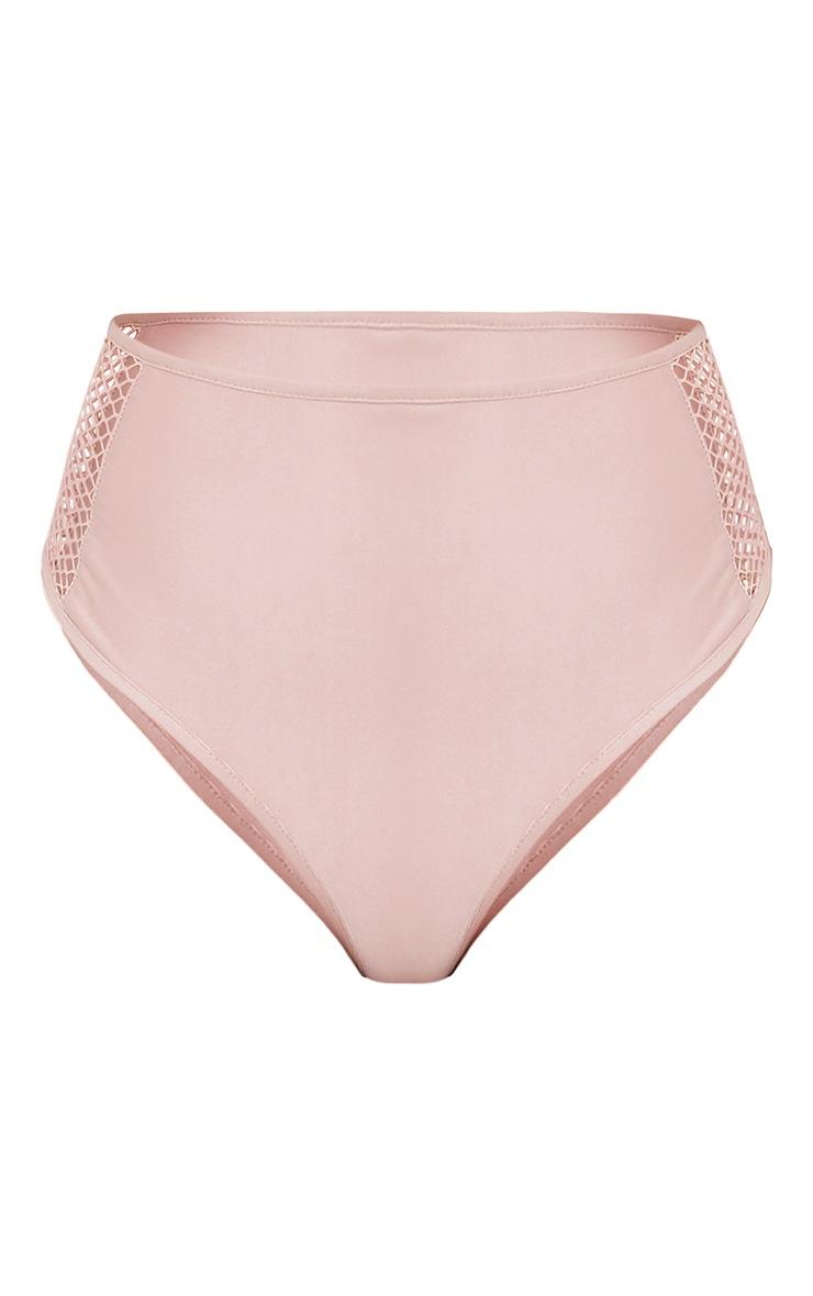 Meeya Pink Fishnet Bikini Bottoms 3