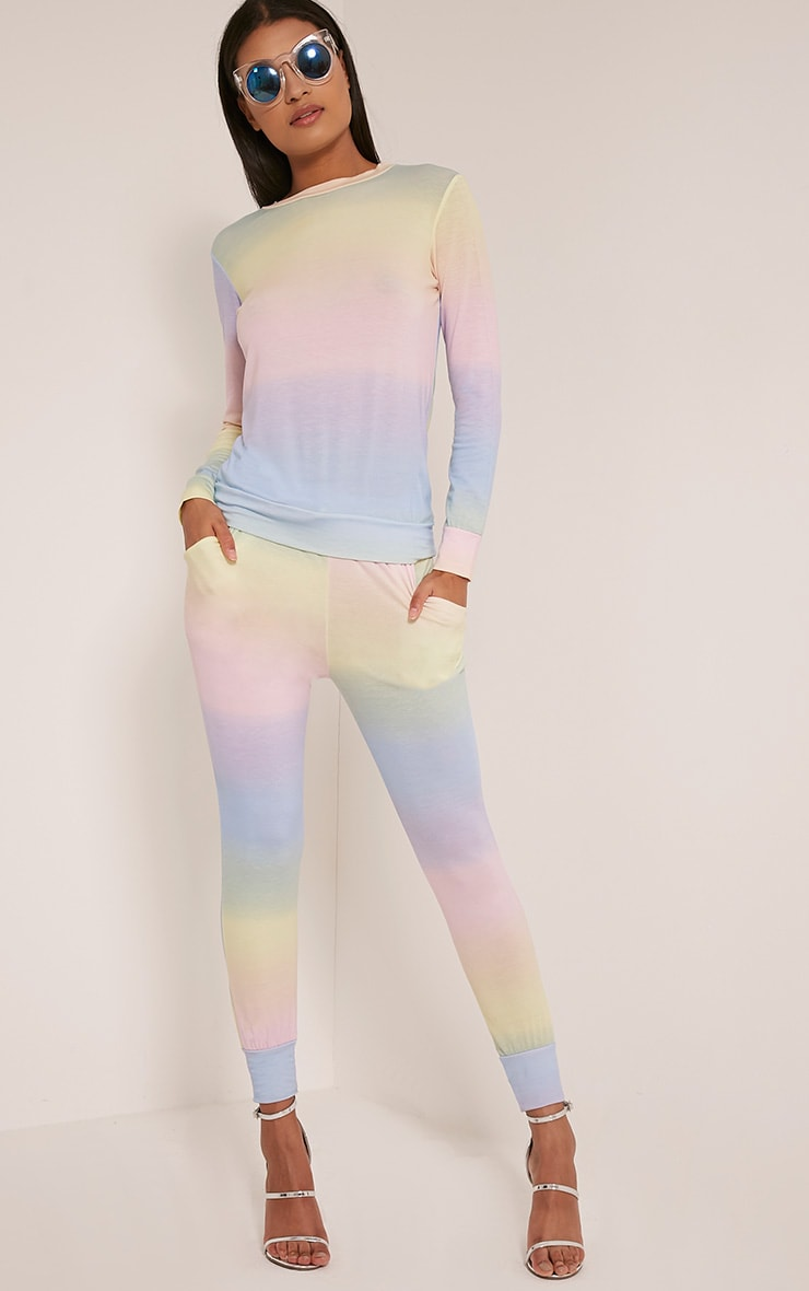 Jaylene Tie Dye Tracksuit Bottoms 1