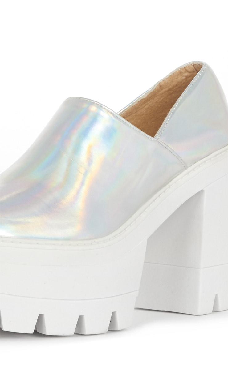 Blair Metallic Slip on Chunky Shoe  3