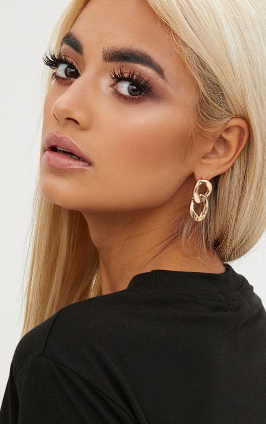 Gold Chain Earring 2
